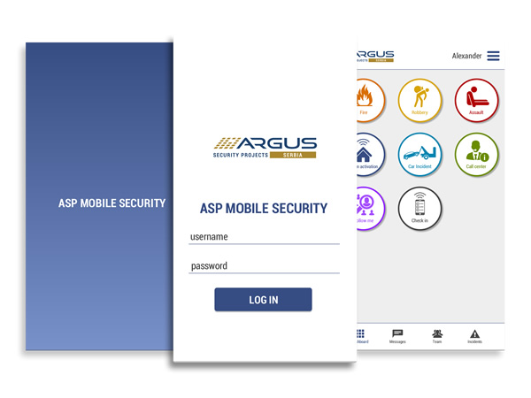 ASP Mobile Security Application